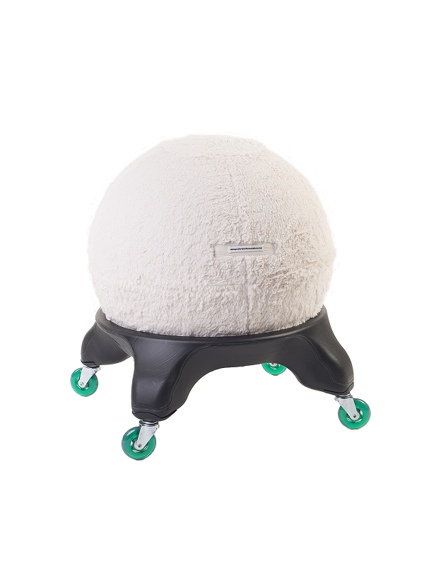 Sherpa Ball Chair Cover
