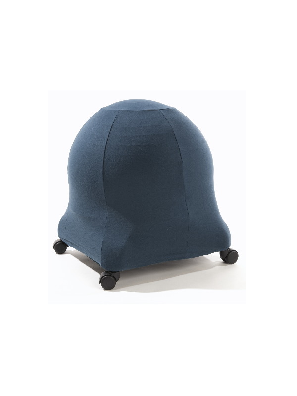teal ball chair cover