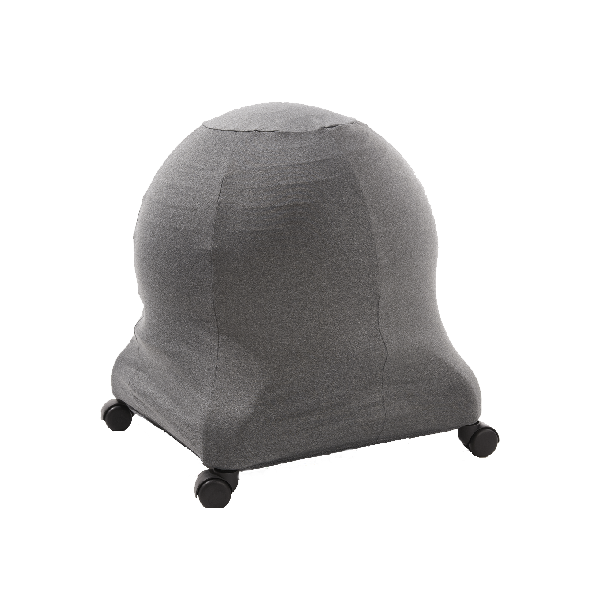 grey ball chair cover