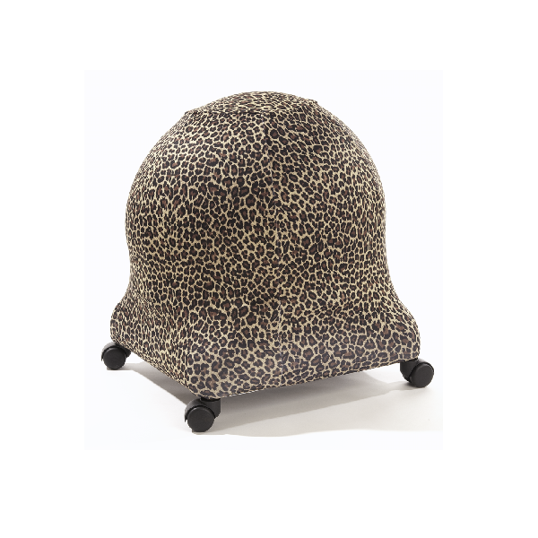 Leopard Brown ball chair cover