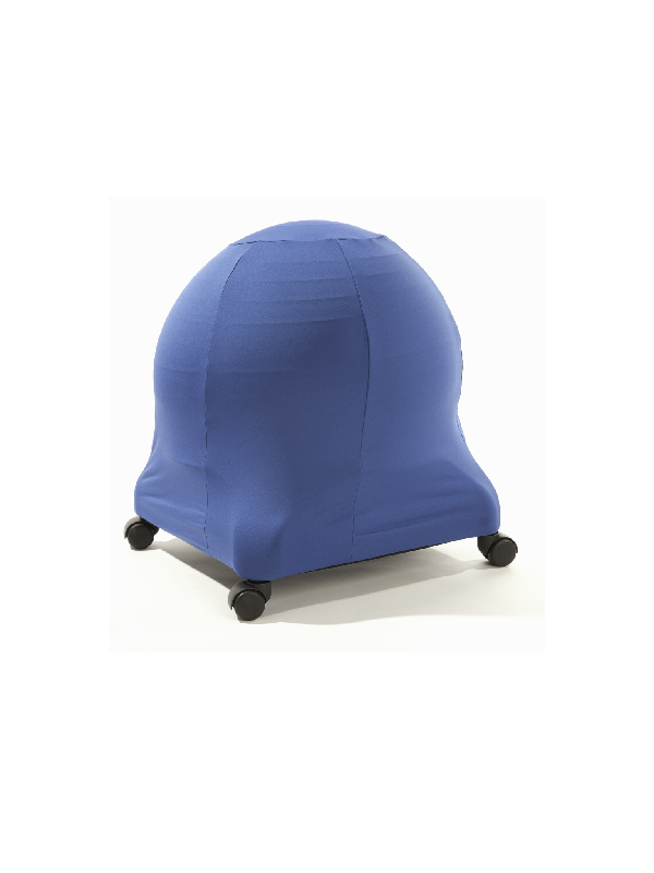 blue ball chair cover