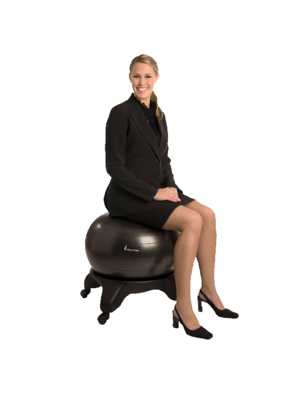Product Information Evolution Stability Ball Chair 1